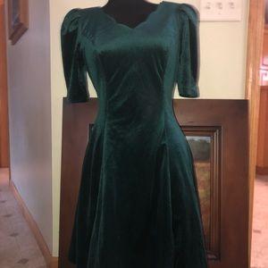 Beautiful vintage velvet dress